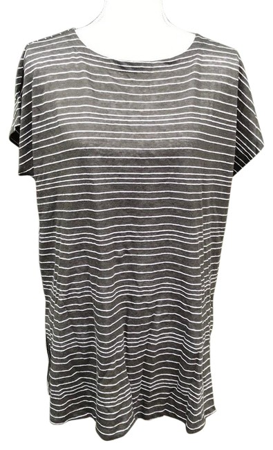 Eileen Fisher Grey S8zic-t4492m Tunic Size 2 (XS) Eileen Fisher Grey S8zic-t4492m Tunic Size 2 (XS) Image 1