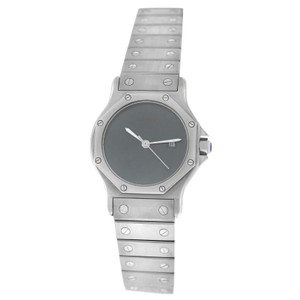 Cartier Ladies Cartier Santos Octagon 30MM Stainless Steel Date Automatic