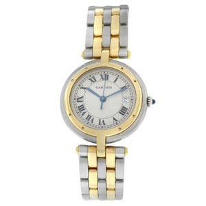 Cartier Ladies Cartier Panthere Cougar Two Row 30MM Steel 18K Gold Quartz