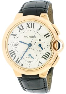 Cartier CARTIER BALLON BLEU CHRONOGRAPH 18KT ROSE GOLD W6920074 Box Papers