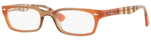 Ray-Ban Highstreet Style Women's RX5150-5487 Demo Customisable Lens Eyeglasses