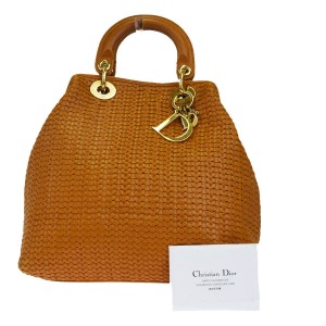 Dior Satchel in camel