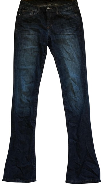 Item - Blue Micro In Chelsea Flare Leg Jeans Size 6 (S, 28)