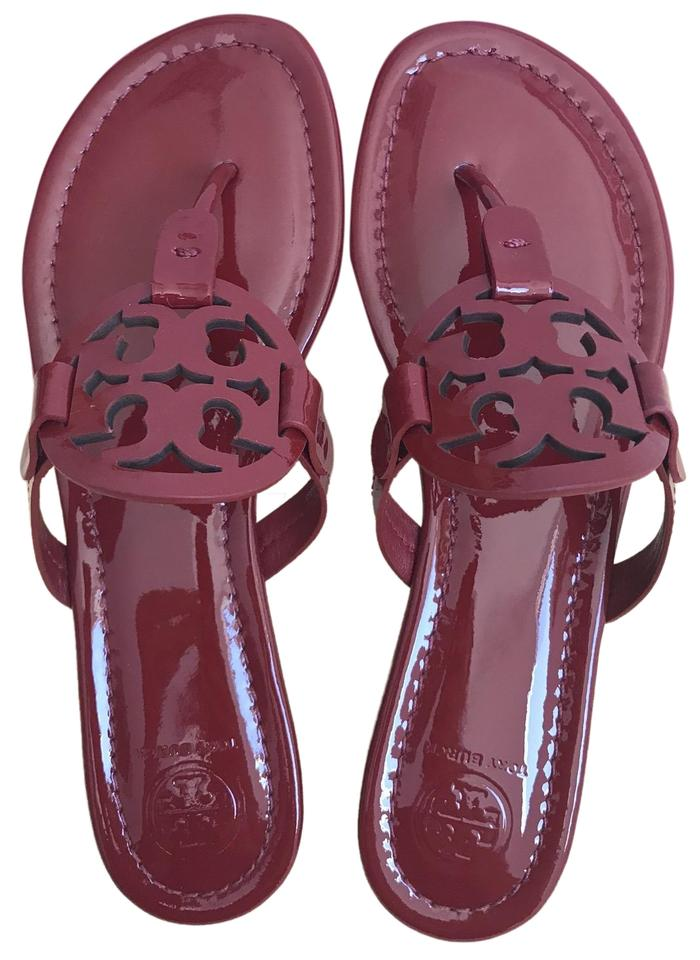 150ee817d666b Tory Burch Red 8.5m Miller Patent Calf Sandals Size US 8.5 Regular ...