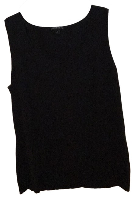 Preload https://img-static.tradesy.com/item/24014014/lafayette-148-new-york-black-sweater-tank-topcami-size-12-l-0-1-650-650.jpg