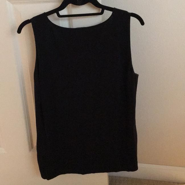 Lafayette 148 New York Top Black Image 1