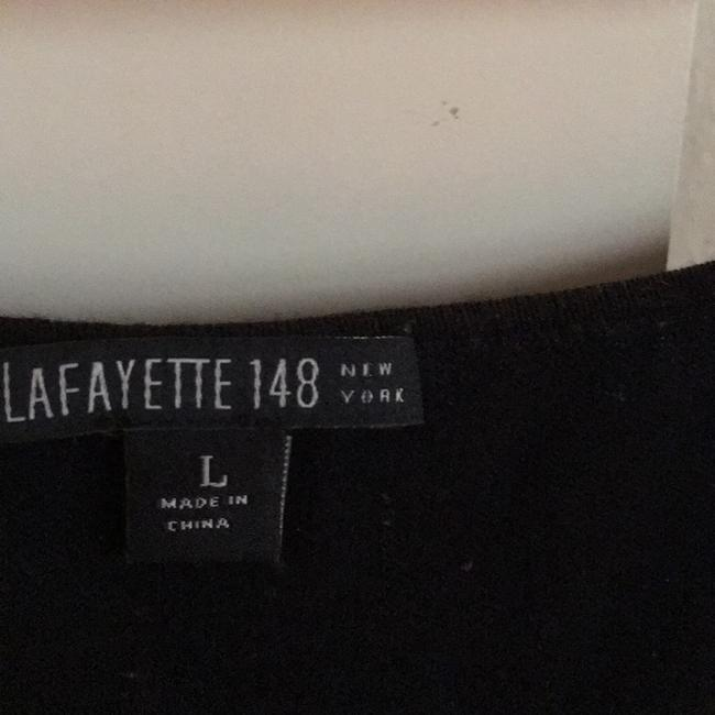 Lafayette 148 New York Top Black Image 3