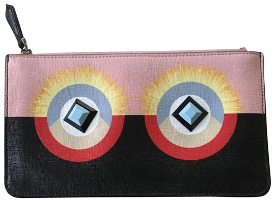 Preload https://img-static.tradesy.com/item/24014055/fendi-monster-leather-clutch-0-1-540-540.jpg