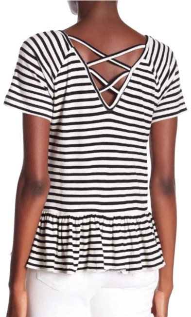 Preload https://img-static.tradesy.com/item/24014141/lucky-brand-striped-peplum-tee-shirt-size-4-s-0-1-650-650.jpg
