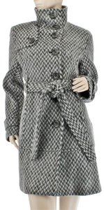 Kenneth Cole Wool Walking Short Trench Coat