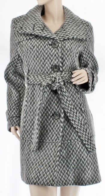 Kenneth Cole Wool Walking Short Trench Coat Image 1
