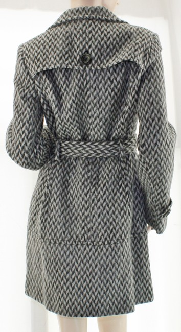 Kenneth Cole Wool Walking Short Trench Coat Image 2
