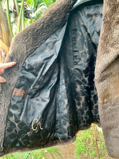 other Bohemian Vintage Imported Sheared Nutria Fur Coat Image 1