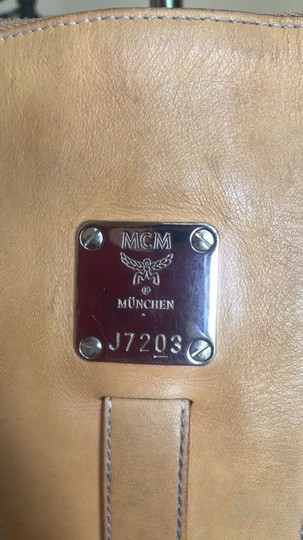 MCM Leather Coated Canvas Gucci Small Shoulder Bag Image 1