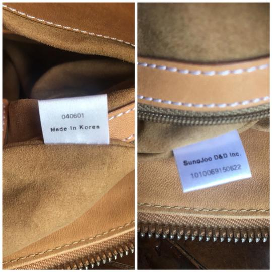 MCM Leather Coated Canvas Gucci Small Shoulder Bag Image 11