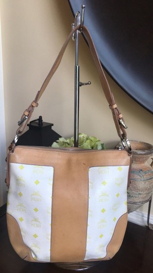 MCM Leather Coated Canvas Gucci Small Shoulder Bag Image 2