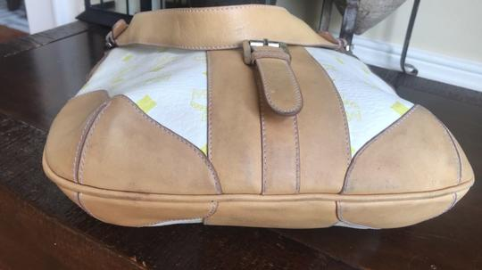MCM Leather Coated Canvas Gucci Small Shoulder Bag Image 3