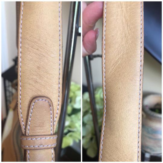 MCM Leather Coated Canvas Gucci Small Shoulder Bag Image 6