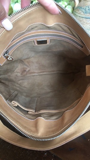MCM Leather Coated Canvas Gucci Small Shoulder Bag Image 7