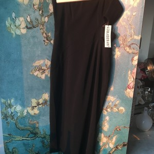 Jay Godfrey Sold Out Strapless Cut Oout Midi Wiggle Dress