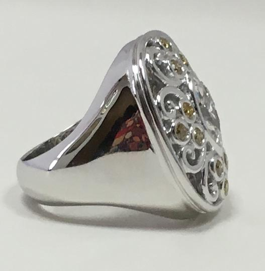 Neena Gorgeous chunky ring with marquise diamond Image 1