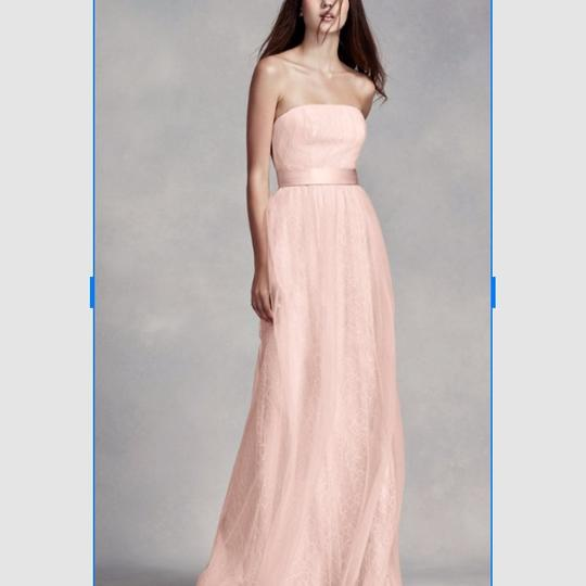 Preload https://img-static.tradesy.com/item/24014460/white-by-vera-wang-blush-lace-and-tulle-feminine-bridesmaidmob-dress-size-10-m-0-2-540-540.jpg