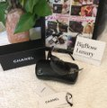 Chanel large CC logo accents rimless dark blue two tones Image 2