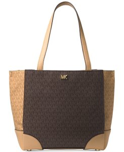 Michael Kors Signature Gala Tote in Brown