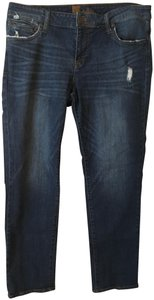 KUT from the Kloth Distressed Straight Leg Jeans-Distressed