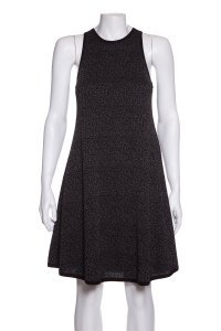 Saint Laurent short dress Black & Grey on Tradesy