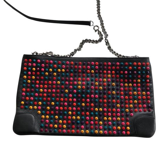 Preload https://img-static.tradesy.com/item/24014539/christian-louboutin-leather-bodyclutch-black-with-multicolored-spikes-cross-body-bag-0-1-540-540.jpg
