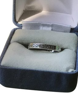 Other .925 sterling silver and diamond chip bang