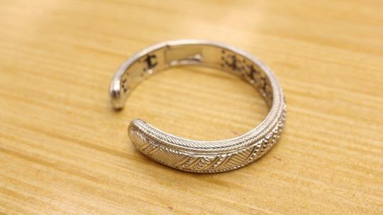 Judith Ripka Judith Ripka sterling silver cuff bracelet with cubic zirconia accents Image 3