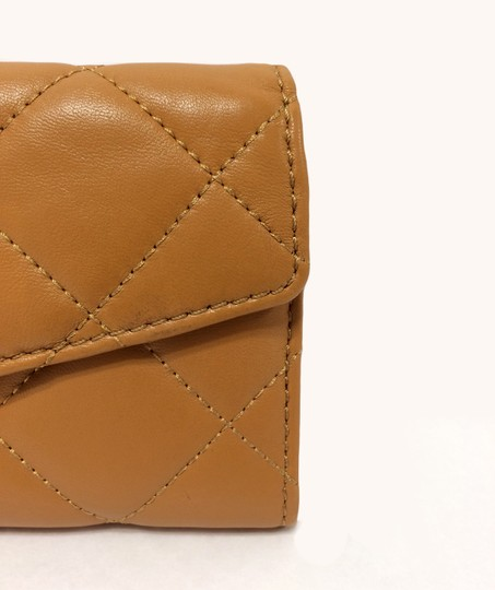 MICHAEL Michael Kors Michael by Michael kors Fulton Quilted Carryall Tan Leather Wallet Image 8