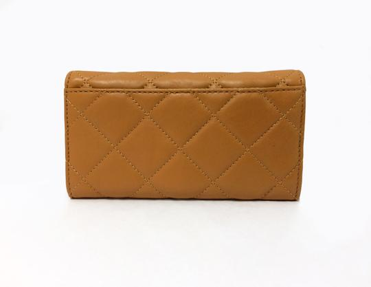 MICHAEL Michael Kors Michael by Michael kors Fulton Quilted Carryall Tan Leather Wallet Image 9