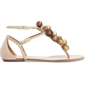 Aquazzura Neutrals Sandals