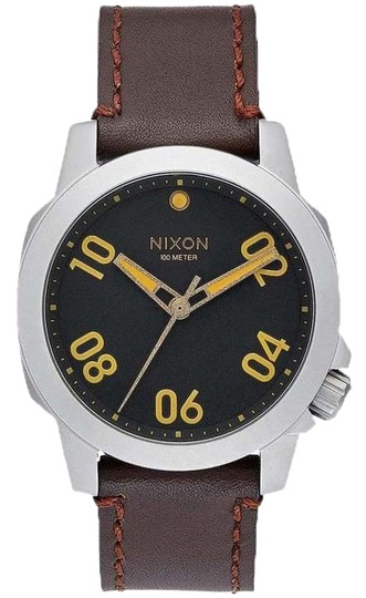 Preload https://img-static.tradesy.com/item/24014681/nixon-brown-a471-019-ranger-unisex-leather-band-with-black-analog-dial-watch-0-1-540-540.jpg