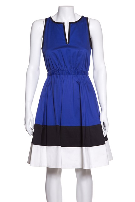 Preload https://img-static.tradesy.com/item/24014682/kate-spade-blue-and-black-color-short-casual-dress-size-2-xs-0-0-650-650.jpg