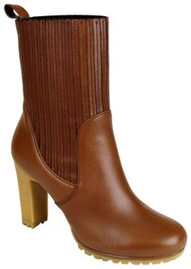 Gucci Leather Heel Mid Ankle 323551 Cuir Boots