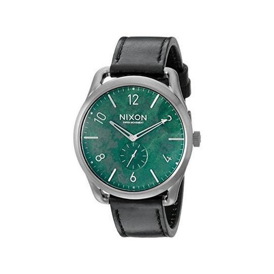 Preload https://img-static.tradesy.com/item/24014789/nixon-black-a465-2069-mens-leather-band-with-green-analog-dial-watch-0-0-540-540.jpg