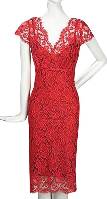 Preload https://img-static.tradesy.com/item/24014799/collette-dinnigan-red-lace-mid-length-cocktail-dress-size-6-s-0-1-650-650.jpg