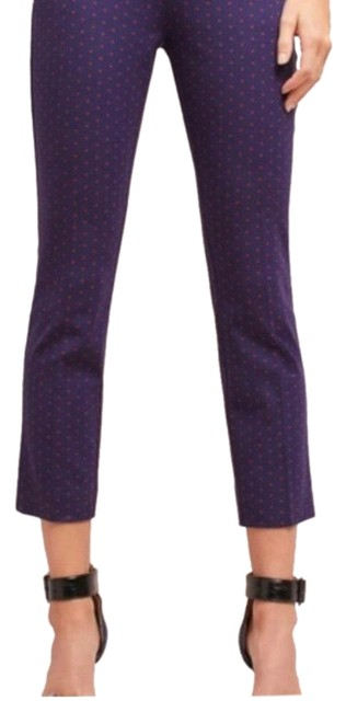 Item - Navy Blue with Red Dots The Essential Slim Pants Size 0 (XS, 25)