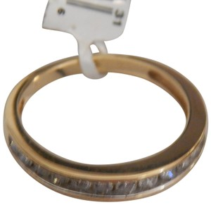 Other New 10k yellow gold 1/2 cttw round diamond size 7 band ring