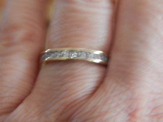 Other New 10k yellow gold 1/2 cttw round diamond size 7 band ring Image 10