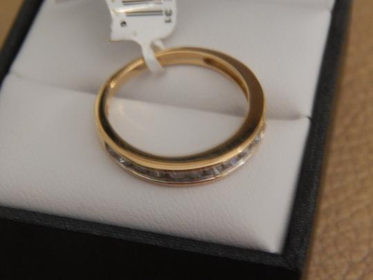 Other New 10k yellow gold 1/2 cttw round diamond size 7 band ring Image 3