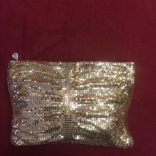 Whiting & Davis Gold Clutch Image 1
