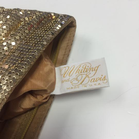 Whiting & Davis Gold Clutch Image 5