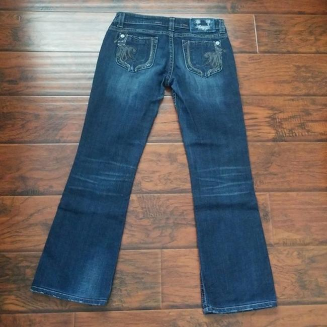 MEK DNM Boot Cut Jeans-Medium Wash Image 3