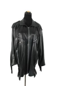 Claude Montana Vintage Leather Jacket