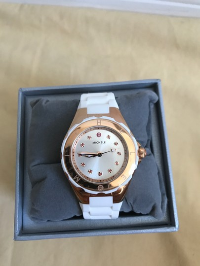 Michele $350 NWT SMALL 'Jelly Bean' Topaz MWW12P000003 Image 1